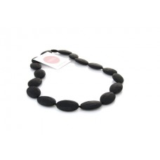 'Grace' teething necklace - Black