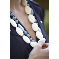 'Grace' teething necklace - Cream OUT OF STOCK!
