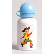 Cowboys & Indians water bottle