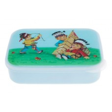 Little Indians lunch box - Blue