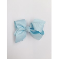 """Audrey"" bow clip - Baby Blue"