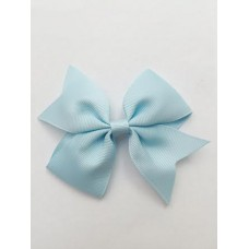 """Dolly"" bow clip - Baby Blue"