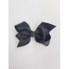 """Audrey"" bow clip - Black OUT OF STOCK"