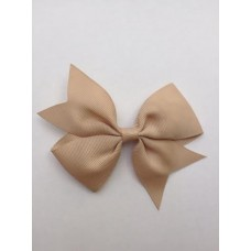 """Dolly"" bow clip - Caramel"