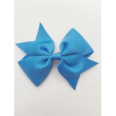 """Dolly"" bow clip - China Blue"