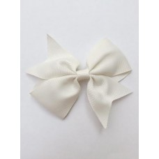 """Dolly"" bow clip - Creme"