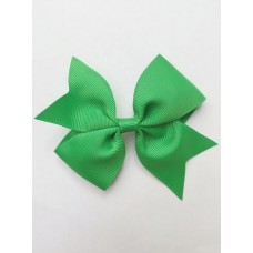 """Dolly"" bow clip - Emerald"