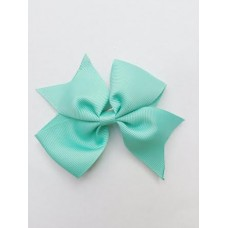 """Dolly"" bow clip - Jewel Jade"