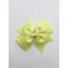"""Dolly"" bow clip - Citrus Lime"