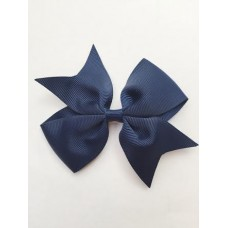 """Dolly"" bow clip - French Navy"