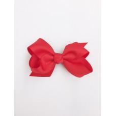 """Audrey"" bow clip - Red"