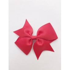 """Dolly"" bow clip - Ruby Red"