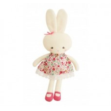 """Hannah"" floral bouquet bunny toy"