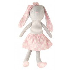 Oversized bunny cuddle toy - Pearl