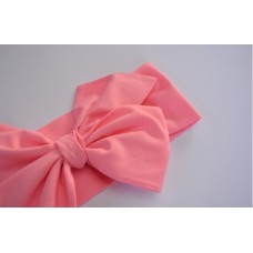 Classic Bow Headwrap - Cotton Candy