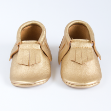 Mosov leather moccasins - Gold