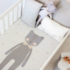 Kitty Boy knitted Blanket