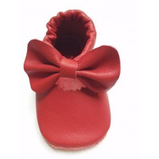 Leather Mary Jane shoes - Red