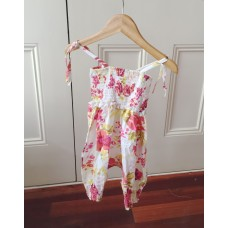 Rose bud jumpsuit